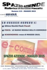 Spazio Aziende – Maggio 2015 n. 113 » LE NUOVE REGOLE DELL'E-COMMERCE