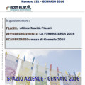 Spazio Aziende n. 121 Gennaio 2016 - LA FINANZIARIA 2016
