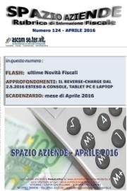 SPAZIO AZIENDE – n. 124 Aprile 2016 » IL REVERSE-CHARGE DAL 2.5.2016 ESTESO A CONSOLE, TABLET PC E LAPTOP