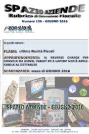 SPAZIO AZIENDE – n. 126 Giugno 2016 » IL REVERSE CHARGE PER CONSOLE DA GIOCO, TABLET PC E LAPTOP NON È APPLICABILE AL DETTAGLIO
