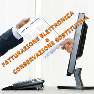 fatturazione-elettronica e conservzione-sostitutiva